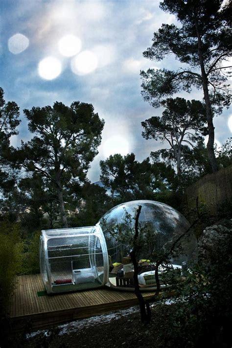 attrapreves bubble hotel  france