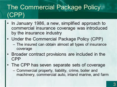 Risk Management And Commercial Property—part I Chapter 9