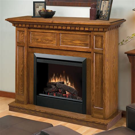 fireplace mantels canada dimplex caprice electric fireplace mantel package in oak