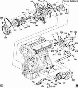 2016 Chevrolet Cruze Engine Diagram
