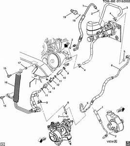 2000 Cadillac Escalade Power Steering Diagram