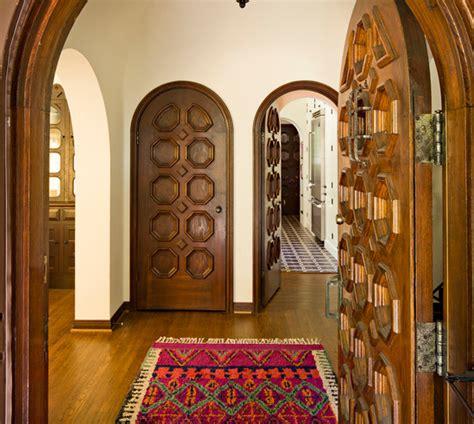 modele porte en bois interieur deco maison moderne