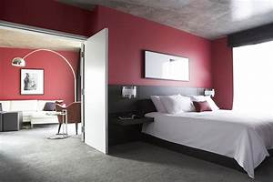 D, U00e9cor, Of, Bedroom, In, Red