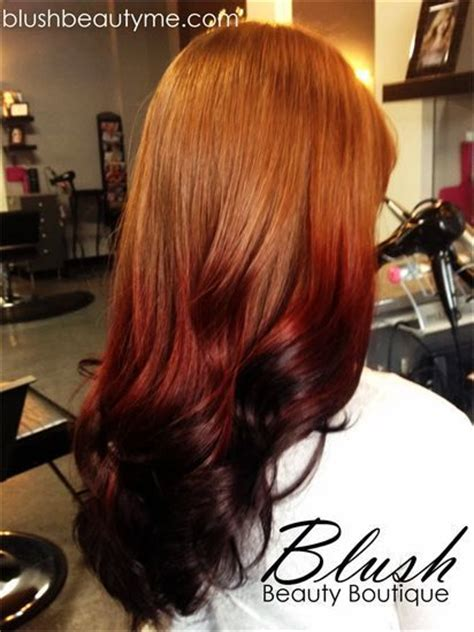 ombre hair color  natural redheads bing images hair