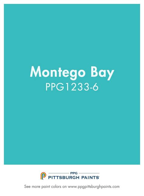 montego bay 156 6 paint color from ppg pittsburgh paints
