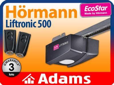 hörmann liftronic 500 hormann ecostar liftronic 500 do bram garażowych 4663149474 oficjalne archiwum allegro