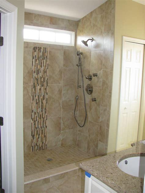 bathroom shower stall designs the proper shower tile designs and size