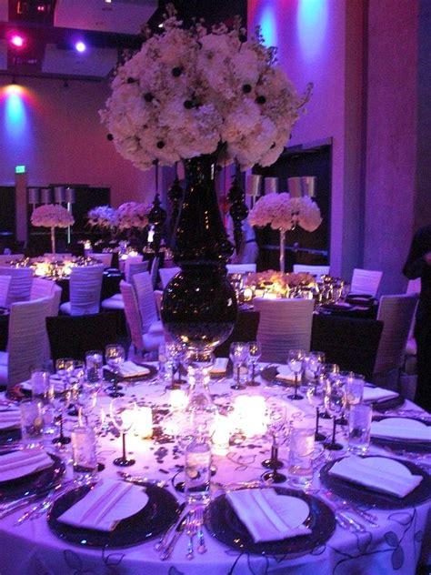 purple silver and white wedding decorations wedding ideas purple wedding theme