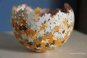 Basteln Für Weihnachten Erwachsene : diy konfettilichter windlicht kitschwerk ~ Orissabook.com Haus und Dekorationen