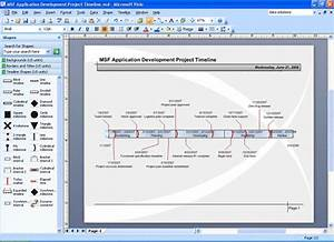 project timeline template visio wwwpixsharkcom With visio timeline template download