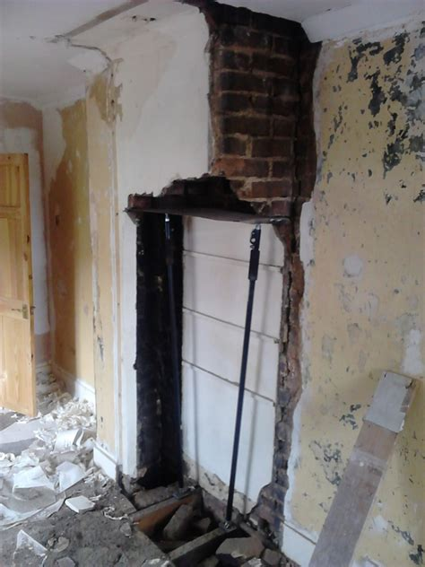 chimney breast removal southend fireplaces flues job
