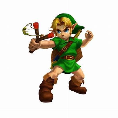Zelda Link Young 3d Ocarina Legend Character