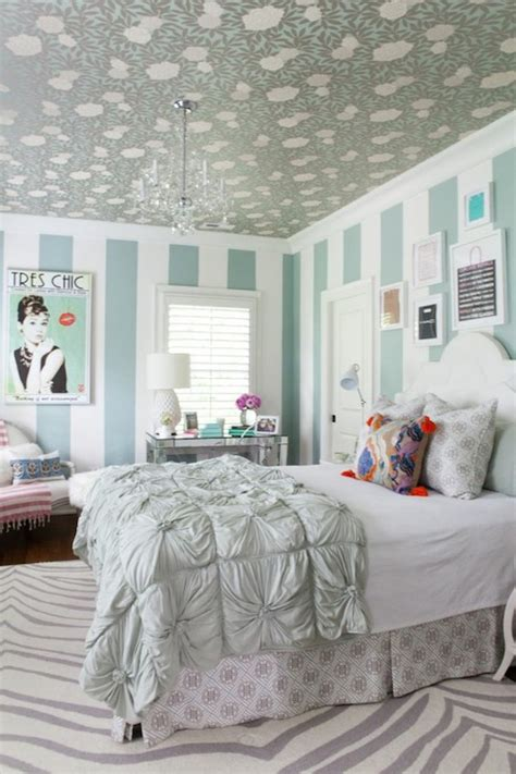 Turquoise Girl's Room  Contemporary  Girl's Room