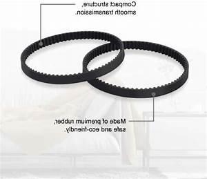 2 Pack Vacuum Belt Replacement For Shark Rotator