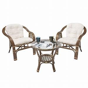 Salon Jardin Rotin : ensemble terrasse en rotin balk rotin design salon de ~ Premium-room.com Idées de Décoration