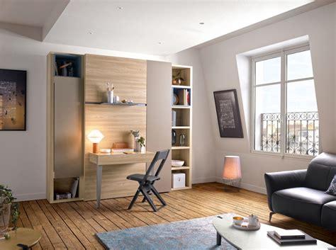 lit armoire bureau aménagement intérieur le déco de mlc
