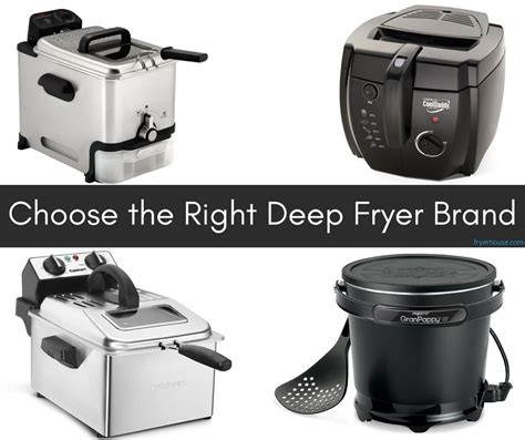 deep fryer brands brand market tons tends however excellent again them there