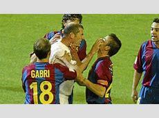 Bad blood between Luis Enrique and Zinedine Zidane MARCA