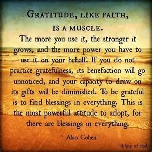 make a list things to be grateful for family matters