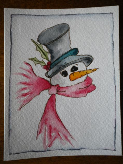 watercolor cards groovydoovyartstudio