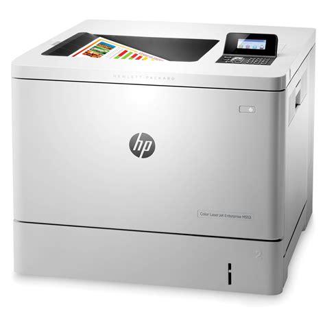 colored laser printer hp laserjet enterprise m553dn color laser printer b5l25a