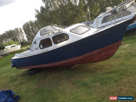Boat Hull Project For Sale by 19ft Loftus Project Boat For Sale In United Kingdom