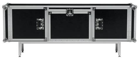 buffet total flightcase l 180 cm noir diesel with moroso