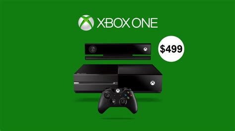 xbox one price xbox one price set at 499 will anyone pay that