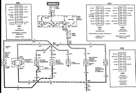 1988 Ranger Instrument Cluster Wiring Diagram Pinout The by 84 To 86 The Differences In Wiring Ford Truck