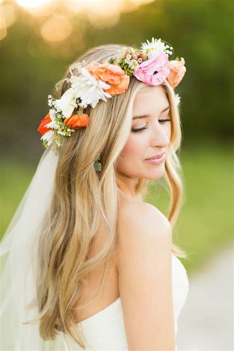ideas  flower crown veil  pinterest