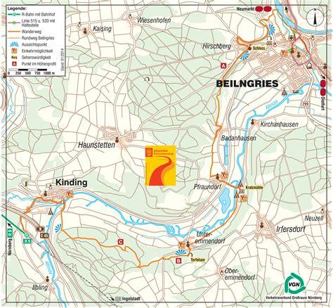 Altmühltal Panoramaweg Karte