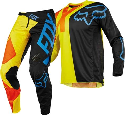 fox motocross gear 2018 fox 360 preme motocross gear black yellow 1stmx co uk