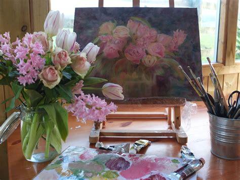 fiori ad olio dipingere fiori ad olio og02 187 regardsdefemmes
