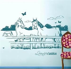 Wandtattoo Name Kind : 1000 ideen zu wandtattoo pferd auf pinterest zeichnung im holz pferde logo und motive zum ~ Sanjose-hotels-ca.com Haus und Dekorationen