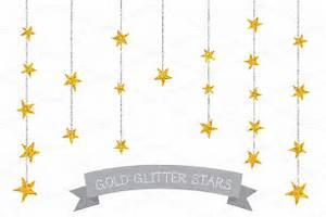 Glitter Gold Star Clipart (48+)