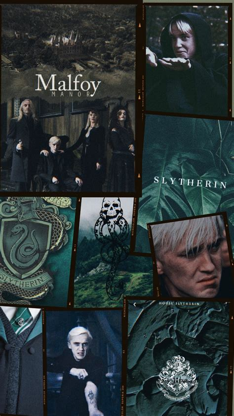 draco malfoy family aesthetic harry potter wallpaper