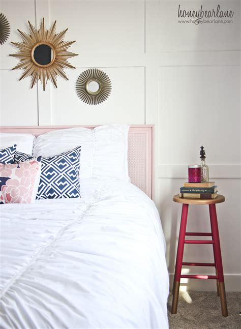 Navy And Pink Bedroom by Navy And Pink Guest Room Reveal Honeybear