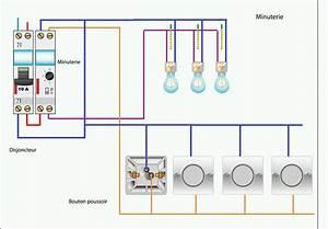 Eclairage Sans Branchement Electrique : schema de raccordement de la minuterie 3 fils maisons electrical wiring design et wire ~ Melissatoandfro.com Idées de Décoration