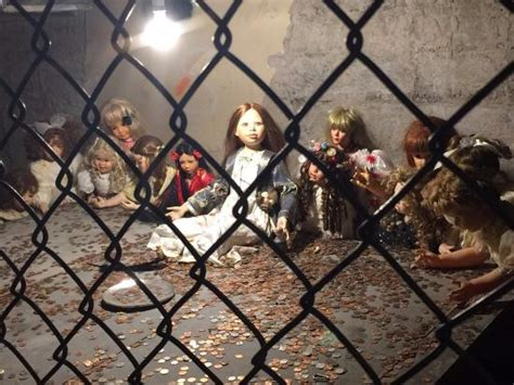 pizza cuisine az creepy basement dolls picture of hanny 39 s