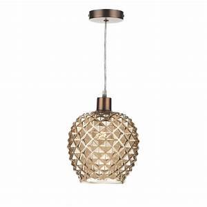 Gold glass non electric pendant shade watt max modern