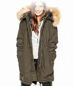 Parka Femme Vrai Fourrure : manteau femme capuche vrai fourrure ~ Melissatoandfro.com Idées de Décoration