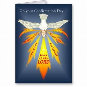 Holy Spirit Confirmation Clip Art | Confirmation Card ...