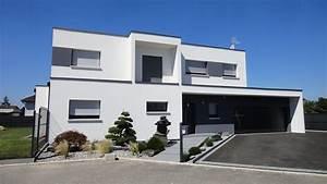 Maison Sans Toit : maison moderne toit terrasse maison moderne toit plat ~ Farleysfitness.com Idées de Décoration