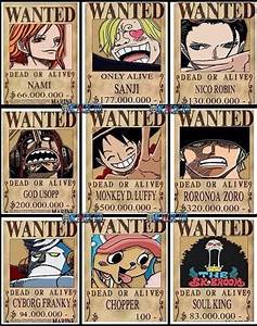 STRAW HATS: NEW WANTED POSTERS! | ONE PIECE GOLD