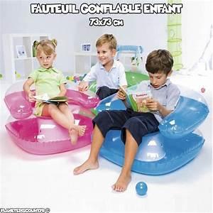 Fauteuil Gonflable Enfant Achat Fauteuil Enfant