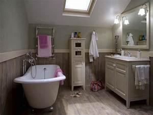 10 salles de bains de charme maisonapart With salle de bain campagne