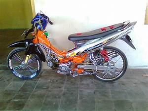 Motor Jupiter Z Modifikasi Drag