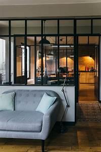 chambre style loft industriel idees decoration interieure With chambre style loft industriel