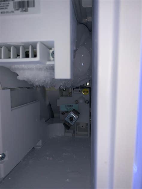 ice maker freezing  samsung community