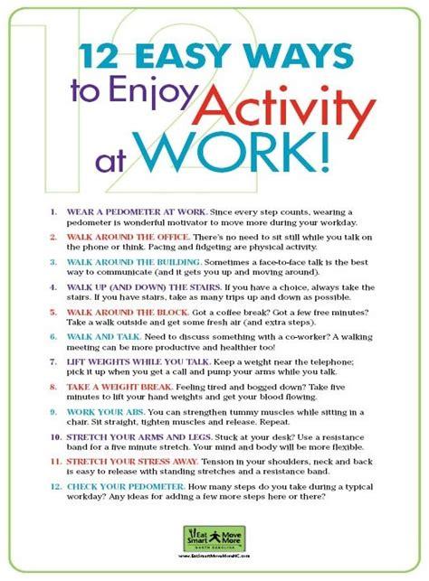 easy ways  enjoy activity  work  images